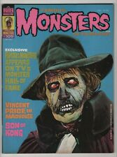 Famous Monsters of Filmland 109 FN/VF 7.0 higher grade Vincent Price 1974 Warren