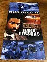Hard Lessons VHS VCR Video Tape Movie Lynn Whitfield Denzel Washington Used RARE