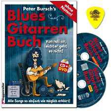 Peter Bursch's Blues-Gitarrenbuch - CD,DVD,Dunlop Plek - 9783802407703