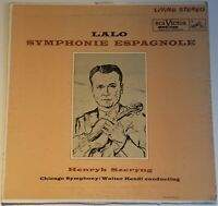 Lalo Symphonie Espagnole Henryk Szeryng Hendl RCA Living Stereo RED SEAL Mexico
