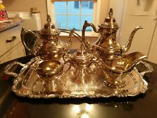 NOS Oneida Silver Tea & Coffee Service Set