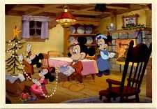 DISNEY - Mickey's Christmas Carol -Mickey Mouse - Minnie Mouse - Postcard