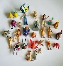 Vintage Disney Small Rubber Plastic Figurines Movies
