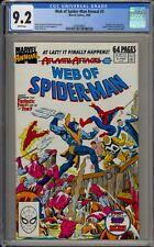 WEB OF SPIDER-MAN #5 - CGC 9.2 - ANNUAL - FANTASTIC FOUR - 2088499001
