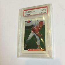 1992 Bowman Trevor Hoffman RC Rookie Card Graded PSA 9 MINT