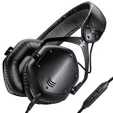 V-MODA Crossfade LP2 sobre la oreja auriculares de metal con aislamiento de ruido-Negro Mate