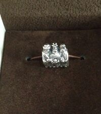 3 KINGS Wise MEN Authentic PANDORA 925/14K Gold NATIVITY CHRISTMAS Charm Bead
