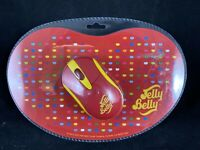 Jelly Belly Optical Wireless Mouse & Mouse Mat Gift Set - 800 dpi PC/Mac D10