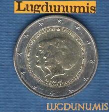 2 euro Commémo - Pays Bas 2013 Reine Béatrix  Prince Willem Alexander Nederland