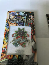 Ed Hardy 'Eternal Love' Crystal Decals