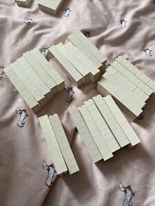 20 x LEGO WHITE BRICKS - 2 x 4 STUDS - 300101 / 3001