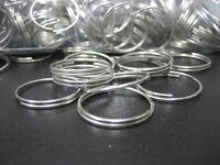 """Lot 1000 pc 3/4"""" Bulk Split Rings / Gift Craft Key Rings / Keyrings / New"""