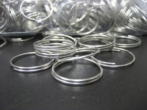 """Lot 1000 pc 3/4"""" Bulk Steel Split Rings -  Gift Craft Key Rings"""