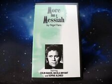 More details for more than a messiah   bbv doctor who spin-off   colin baker   very rare vhs 1st