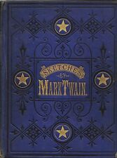 SKETCHES-BY MARK TWAIN-1875-1ST EDITION-A VERY NICE COLLECTIBLE!