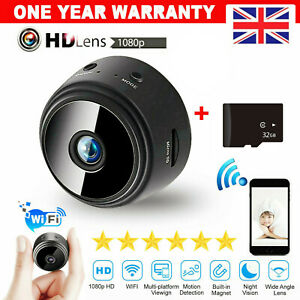 1080P HD 32G Wireless Home Security MINI Spy IP Camera Night Vision Hidden Cam