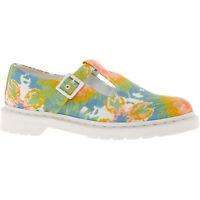 DR MARTENS V POLLEY MTD Women's Mandala Tie Dye Canvas Shoes - UK 3 4 6