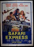 M112 Manifesto 4F Safari Express Giuliano Gemma Ursula Andress