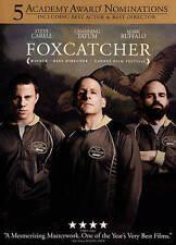 Foxcatcher DVD Steve Carell & Channing Tatum