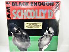 SCHOOLLY D Am I Black Enough For You? explicit lyrics LP Record MINT cut