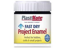 Plasti-kote Fast Dry Enamel Paint B1 Bottle Black Gloss 59ml - Safe to Use