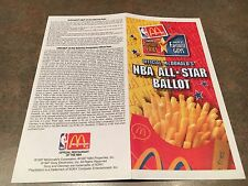 1998 NBA All-Star Ballot, Michael Jordan And Many Other Present And Future HOF