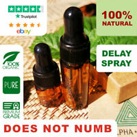 Alpha-Herb™ 100% Natural Premature Ejaculation Cure Delay Spray - No Numbing!