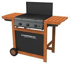BARBECUE A GAS ADELAIDE WOODY 3 CON BRUCIATORI GHISA CAMPINGAZ