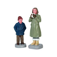 New Lemax Figurines Can I Have Some Too? Set of 2 # 72525  Polyresin 2017
