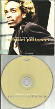 RAHSAAN PATTERSON Where you Are 2TRX LIMITED CARD SLEEVE CD single 1996 USA