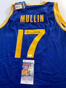 CHRIS MULLIN Signed Golden State WARRIORS Mitchell & Ness JERSEY JSA COA