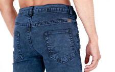 Unbranded Big & Tall Short Coloured Jeans for Men