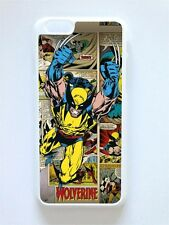 Estuche/Cubierta Para Iphone 6, Wolverine, Diseño Retro Fresco, Marvel, X-Men, Comic
