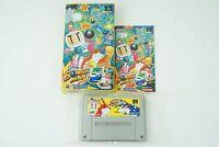Super Bomberman 5 SNES Hudoson Nintendo Super Famicom Box From Japan