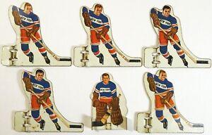 Vintage Munro NHL NEW YORK RANGERS Table Hockey METAL-Tin Players, Complete SET