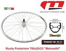 """9030 -Ruota Posteriore """"MALVESTITI"""" Mirage 6/7/8-Vel. per Bici 28"""" Corsa Vintage"""