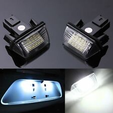 2 NO ERROR LED NUMBER LICENSE PLATE LIGHT FOR PEUGEOT 206 207 306 307 CITROEN C3