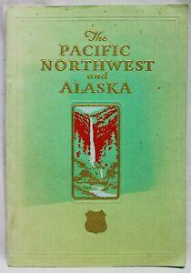 UNION PACIFIC RAILROAD THE PACIFIC NORTHWEST & ALASKA TRAVEL BROCHURE 1936