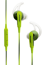 Bose SOUNDSPORT IN-EAR HEADPHONES FOR APPLE DEVICES Inline Mic ENERGY GREEN