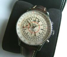 BREITLING MONTBRILLANT NAVITIMER DATORA AUTOMATIC CHRONOGRAPH TRIPLE DATE A21330