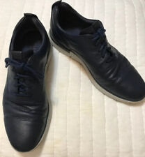 Cole Haan Mens Grand Horizon Oxfords II Marine Blue Leather Mens Size 11 M $150