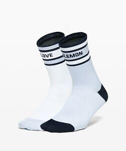 NEW Women Lululemon Tale To Tell Quarter Sock 2 Pack  Size S/M