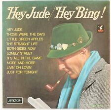 HEY JUDE/HEY BING  BING CROSBY WITH JIMMY BOWEN ORCHESTRA & CHORUS Vinyl