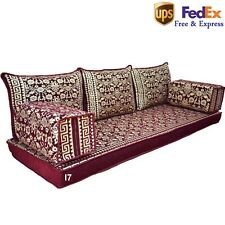 Arabic Seating Oriental Sofa Majlis Turkish Moroccan Floor Gold Cushions FOAM