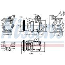 1 Kompressor, Klimaanlage NISSENS 89082 passend für HYUNDAI KIA