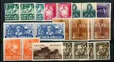 South Africa 1941-46 War Effort set plus shades SG88/94b MLH