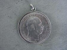 Silber Anhänger 5 Fünf Reichsmark Kaiserreich Preußen 1876 Tracht Charivari