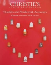 CHRISTIE'S AUCTION CATALOGUE - 9th DECEMBER 1998 - THIMBLES & NEEDLEWORK TOOLS