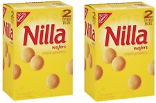 Nabisco Nilla Wafers 15 oz 2pk Vanilla Flavored Wafer Style Cookies Kosher Dairy