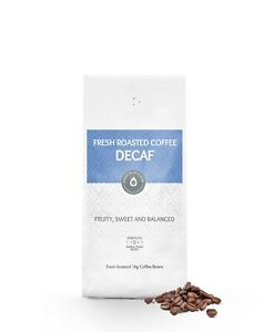 1kg Decaf Coffee Beans Arabica Freshly Drum Roasted High Grown Decaffeinated